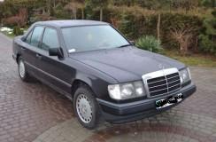 Mój Mercedes W124