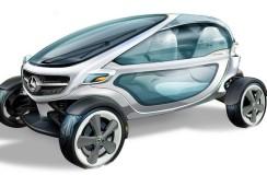 Wózek golfowy Mercedesa?