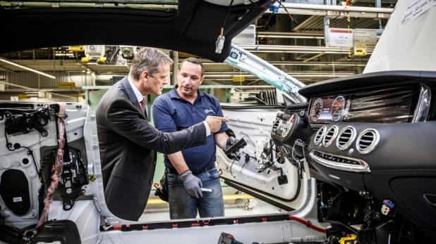 Mercedes zaprezentuje 12 nowych aut do 2020 roku blog for Mercedes benz factory in alabama
