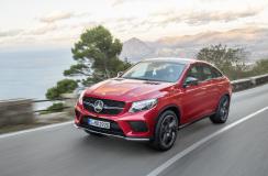 Mercedes GLE Coupe oficjalnie zaprezentowany