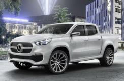 Mercedes prezentuje pierwszego pick up'a w historii!
